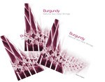 Bow Brand Burgundy Full Octave Sets
