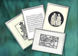 Cards - Early music designs