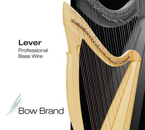 Lever Harp - Professional Bass Wires (5th & 6th octave)